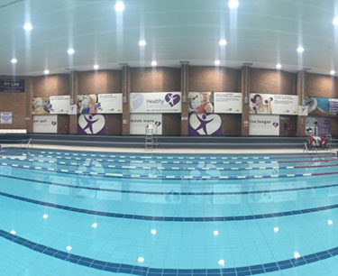 Picture of Family in Swimming pool
