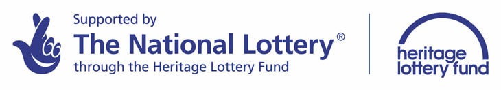 Support by The National Lottery through the Heritage Lottery fund