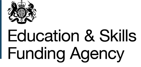 the Education and Skill Funding Agency logo