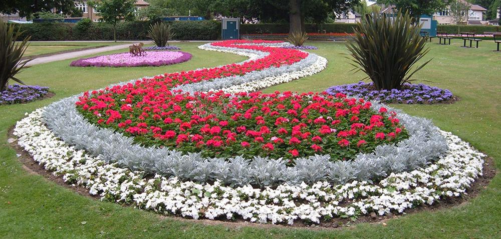 An image of a floral display in South Park
