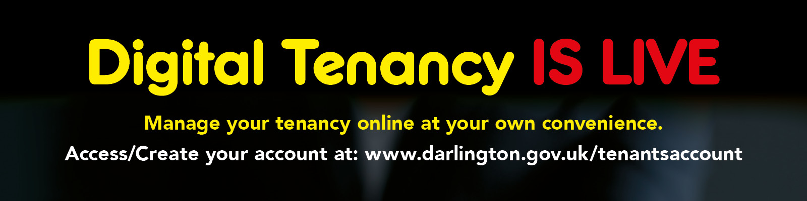 digital tenancy is live see the details on this page