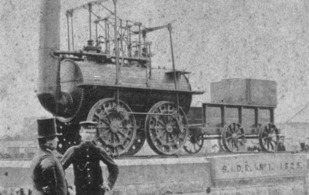 Locomotive Number 1