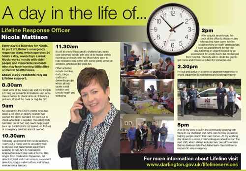 a day in the life article from One Darlington