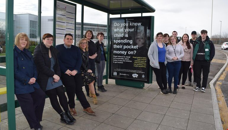 picture for Creative students help tackle illegal tobacco trade