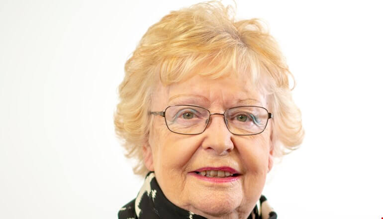 A statement of thanks from Councillor Heather Scott