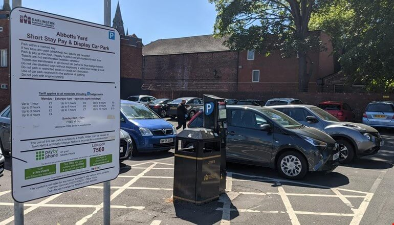Town centre car park to reopen after revamp