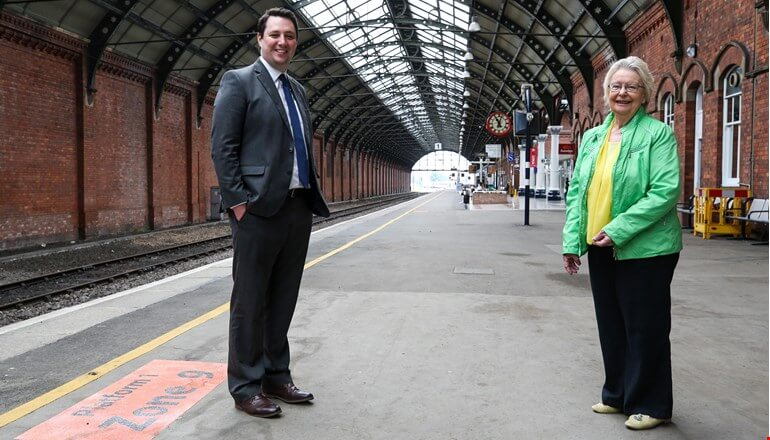 Bank Top station transformation on track
