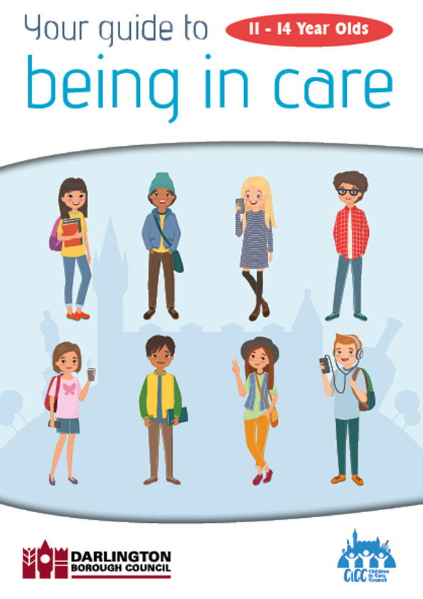 the care guide cover for 11-14 yr olds