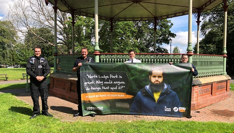 New campaign launched in face of litter in parks
