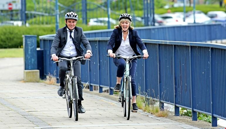 Residents urged to walk and cycle more