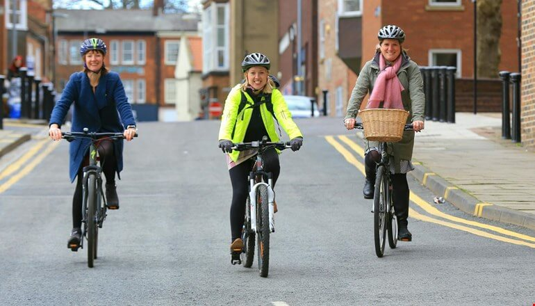 Ambitious cycling and walking plans for Darlington