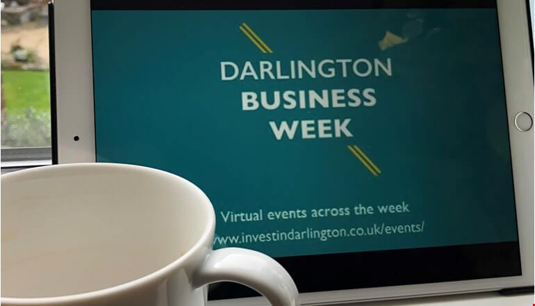 Places filling up for Darlington's first virtual Business Week