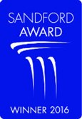 Sandford Winner 2016 Logo Blue 2 Small
