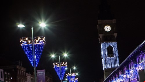 picture for Big festive lights switch on for Darlington