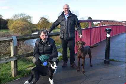picture for Walkies and talkies: Councillors launch ward surgery with a twist