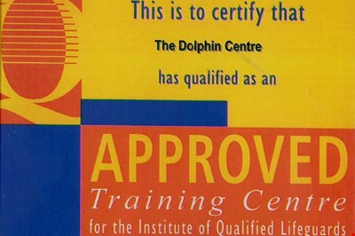 the IQL certificate for the Dolphin centre