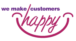 are we maing you happy logo