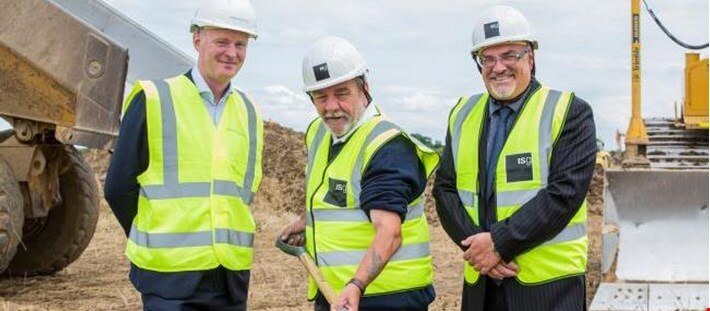 Ground breaking work starts on Darlington's 94-acre Symmetry Park
