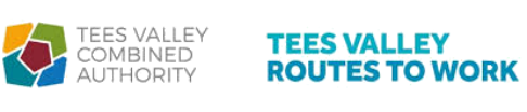 Tees valley combined authority Routes to work logo