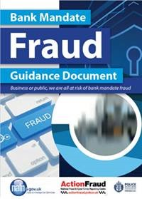 Bank mandate fraud guidance document front cover