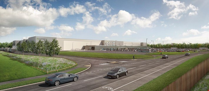 Vision revealed at £100M logistics park - Symmetry Park