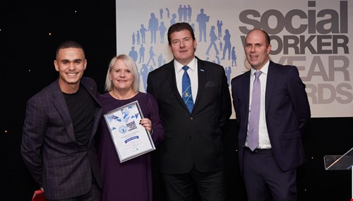 picture for Social workers recognised at national awards