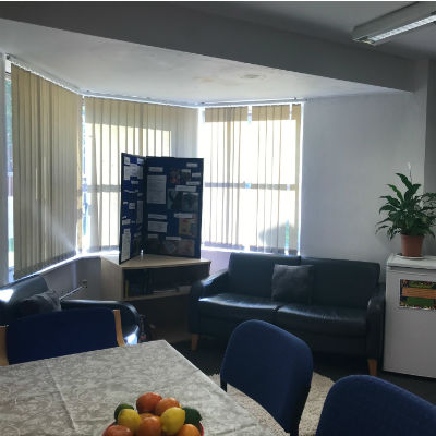 Young people's room in Pease House