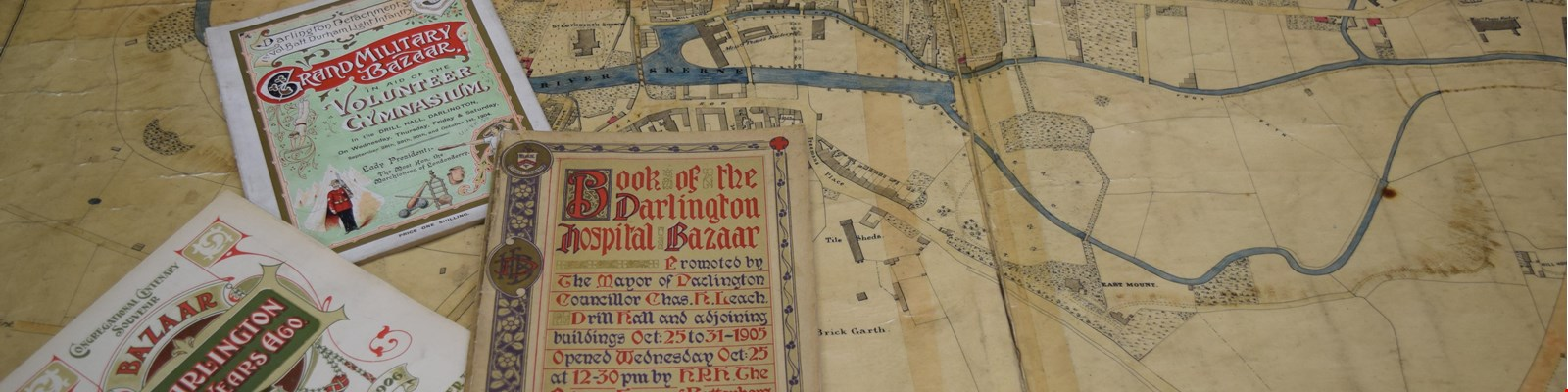 old maps of Darlington