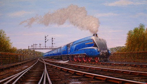 picture for The Nostalgia of Steam: An exhibition by Stephen Bainbridge