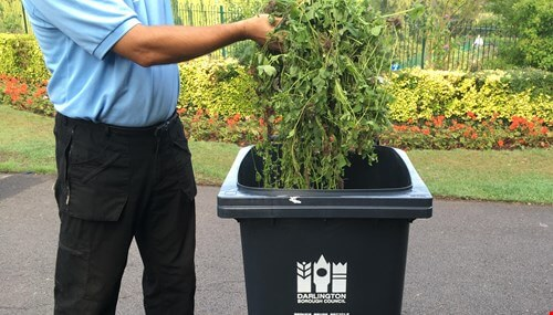 picture for Reminder of final garden waste collection for 2019