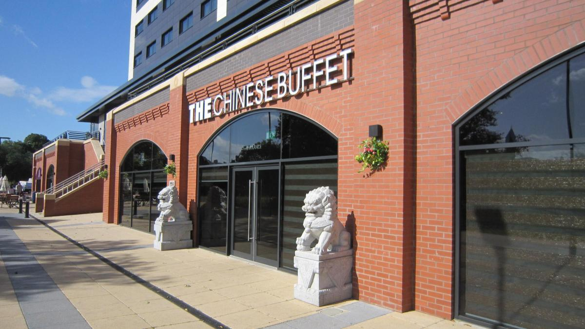 The Chinese buffet restaurant