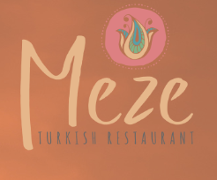 Meze Turkish restaurant logo