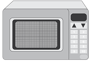 Image of a microwave