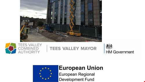 picture for Feethams House construction site open to visitors
